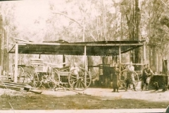 First blackmith's shop in Margaret River