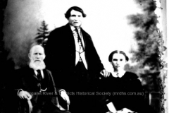 Peter Brennan, John Dawson and Mary Dawson (nee Dooley)