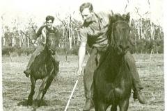 Polocrosse in Kitson's paddock